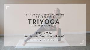 TriYoga workshop i Frederikssund